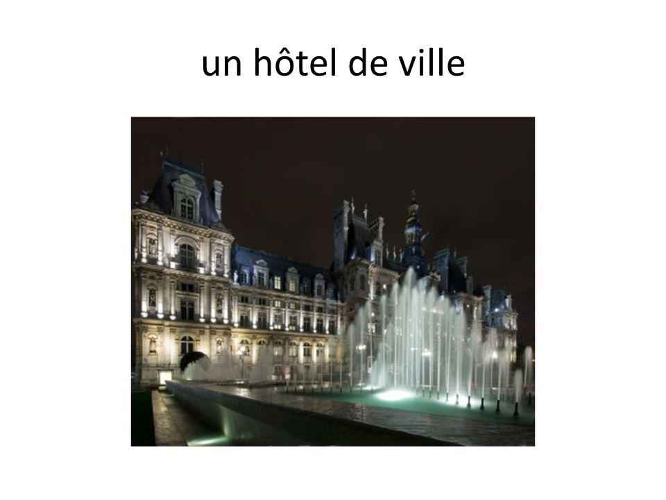 un hôtel de ville