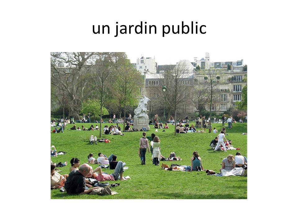 un jardin public
