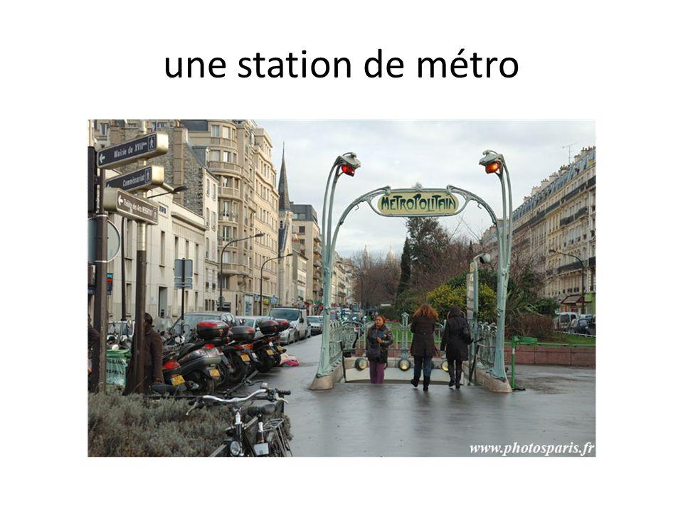 une station de métro