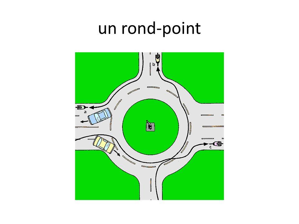 un rond-point