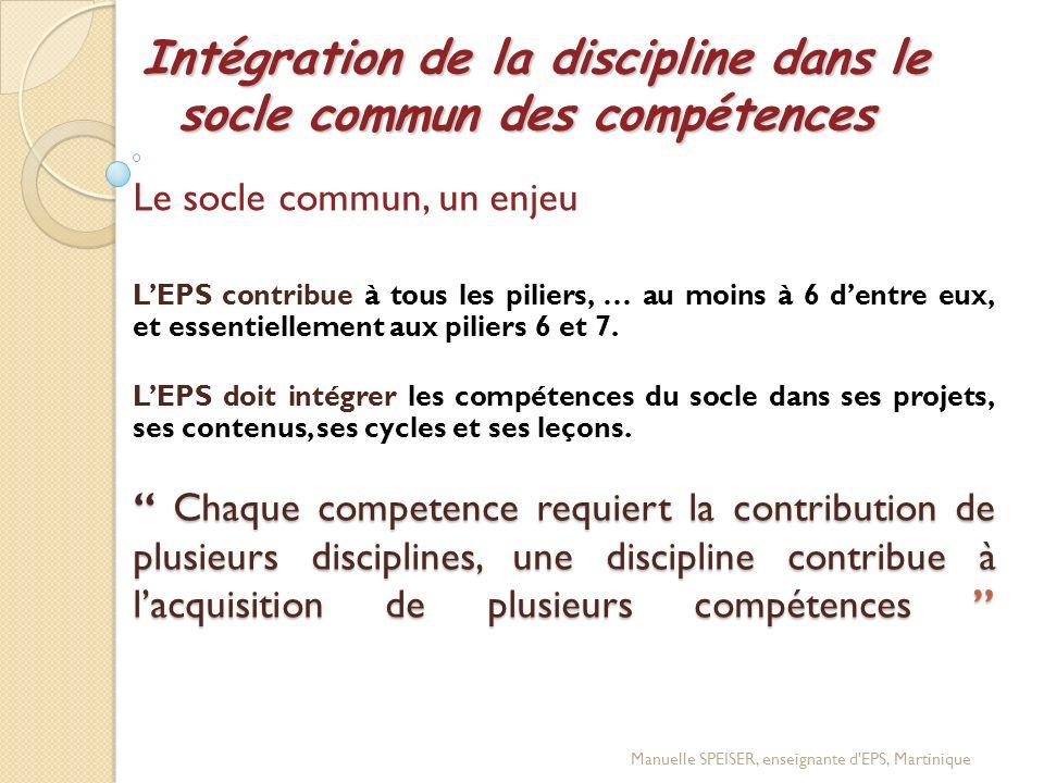 Logique de construction de Projet de Classe Logique de construction de Projet de Classe Prise en compte des enseignements Transdisciplinaire (socle commun) Prise en compte des enseignements disciplinaires (EPS) Répartition des Compétences Méthodologiques et Sociales (CMS) Prise en compte des Compétences Propres (CP) CONSTRUCTI ON DU PROJET DE CLASSE Manuelle SPEISER, enseignante d EPS, Martinique