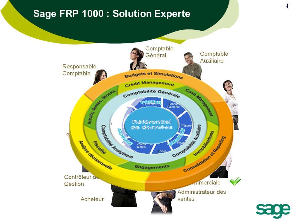 Sage FRP 1000 : Solution Experte 4