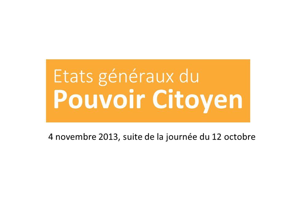 4 novembre 2013, suite de la journée du 12 octobre