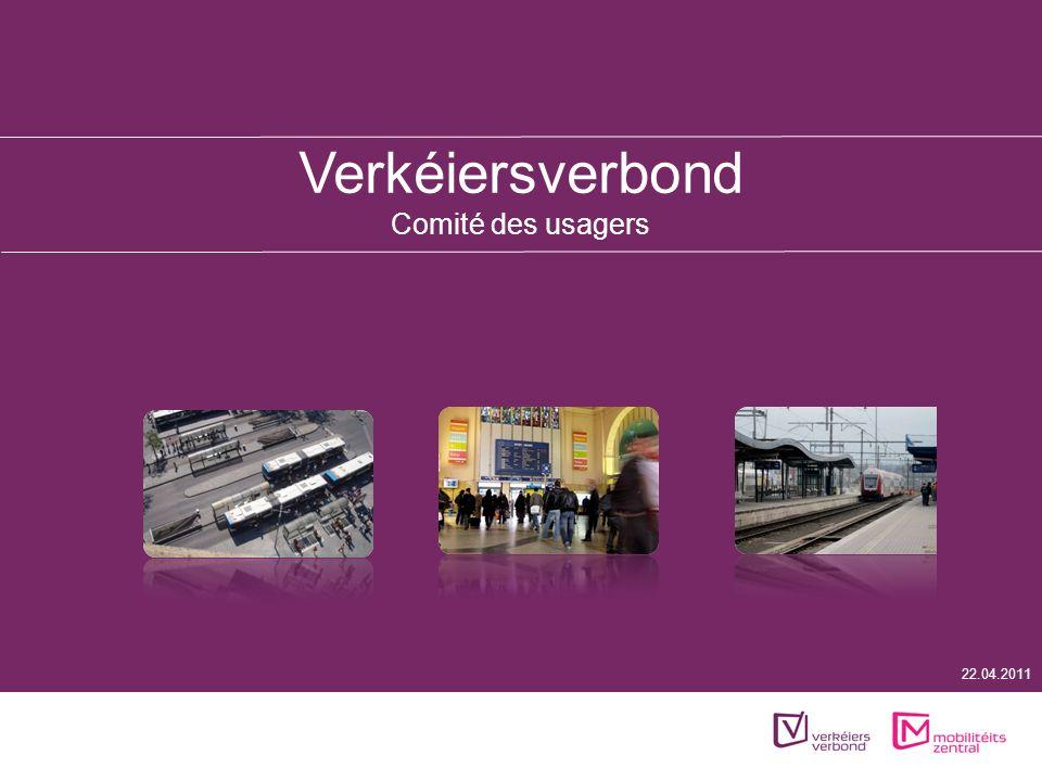 Règlement Grand-Ducal du 9 juillet 2007 déterminant la composition et les modalités de fonctionnement du comité des usagers de transport publics Réunion de concertation entre le Verkéiersverbond, les opérateurs et les entités promouvant les transports publics lors de la semaine européenne de mobilité 2010.