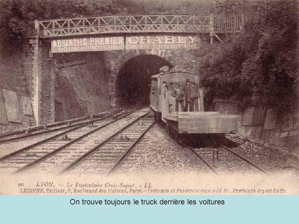 Troisième ligne mise en service le 13 avril 1891