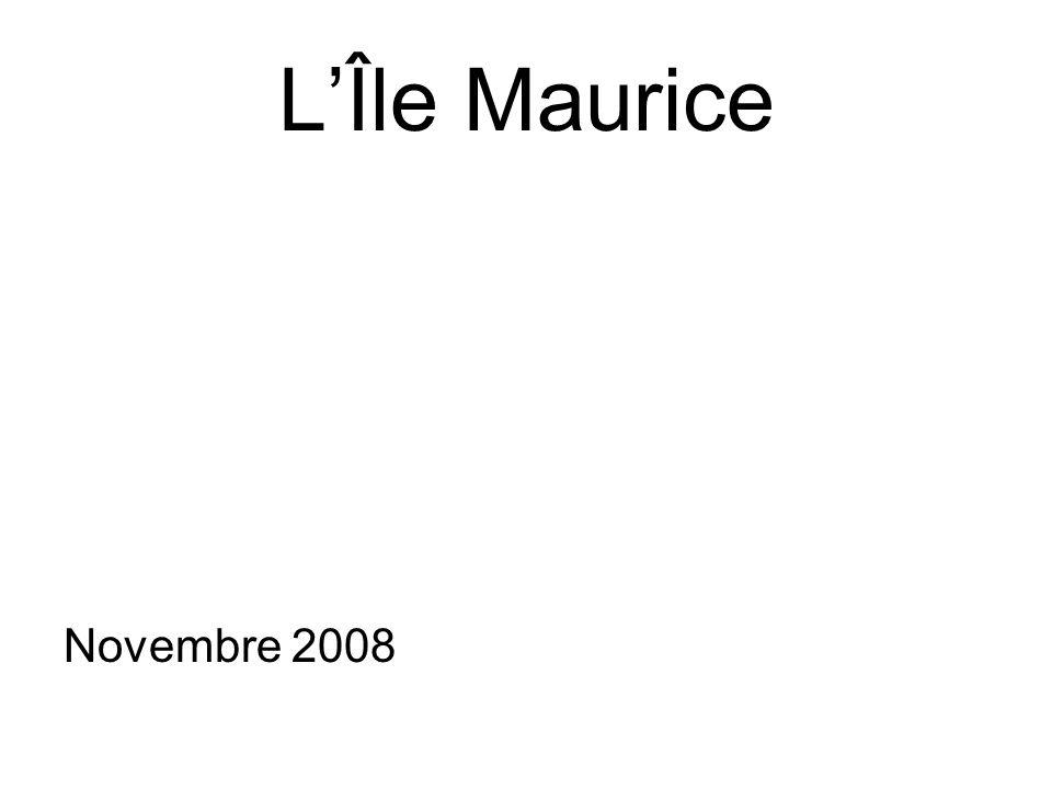 LÎle Maurice Novembre 2008