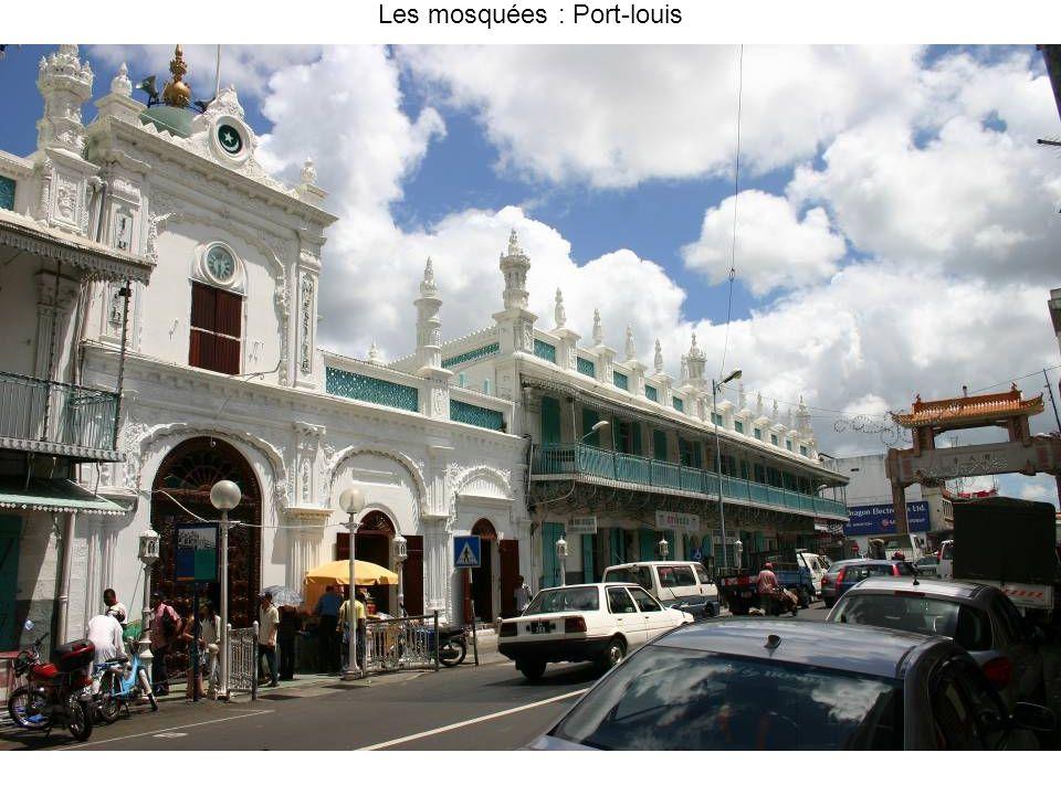 Les mosquées : Port-louis