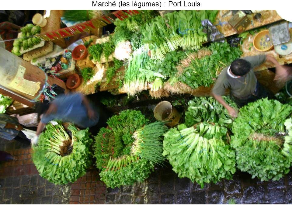Marché (les légumes) : Port Louis