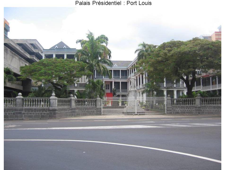 Palais Présidentiel : Port Louis