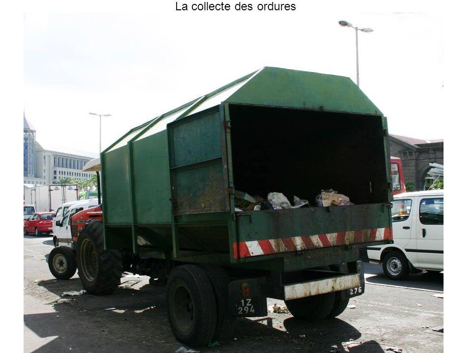 La collecte des ordures