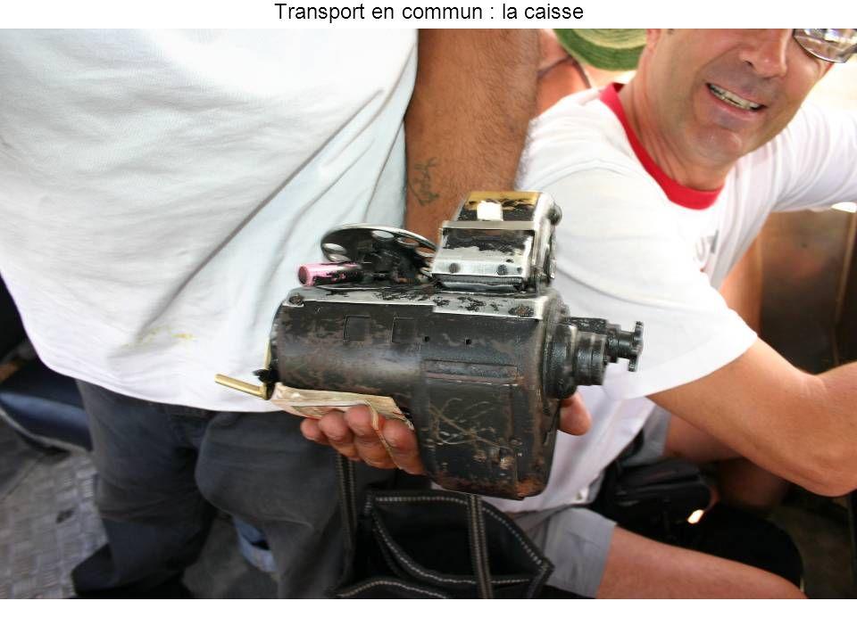 Transport en commun : la caisse
