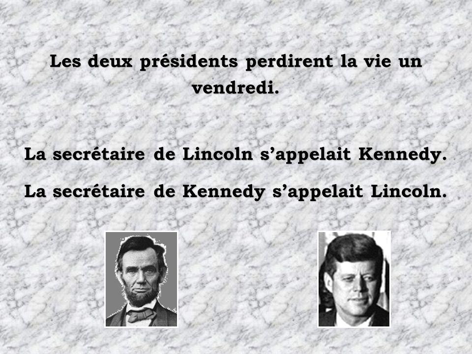 Les épouses des deux présidents perdirent leur enfant alors quelles vivaient à leur enfant alors quelles vivaient à la Maison Blanche. Les deux présid