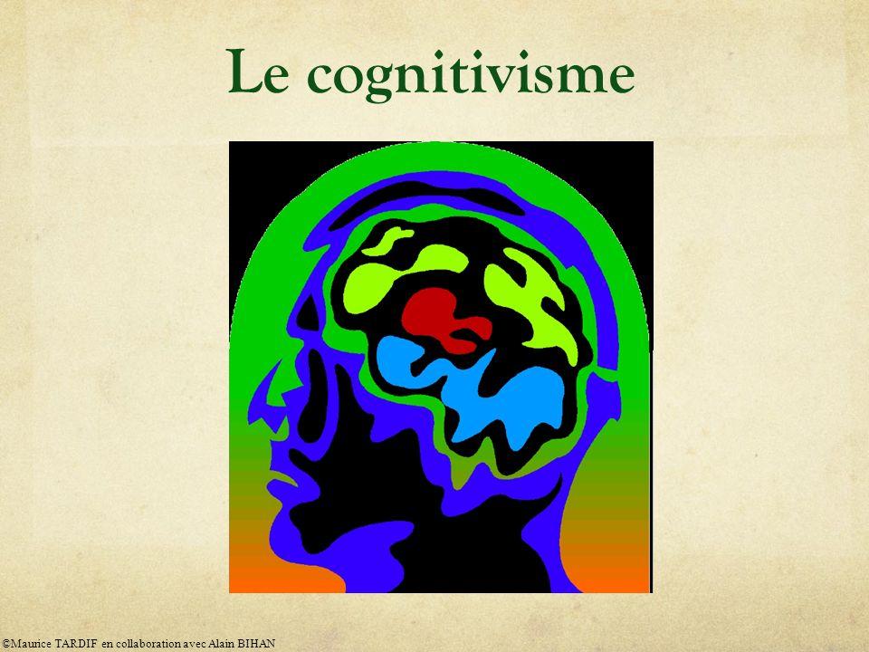 Le cognitivisme ©Maurice TARDIF en collaboration avec Alain BIHAN