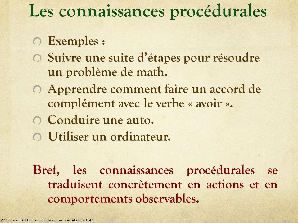 Exemples : Suivre une suite détapes pour résoudre un problème de math.