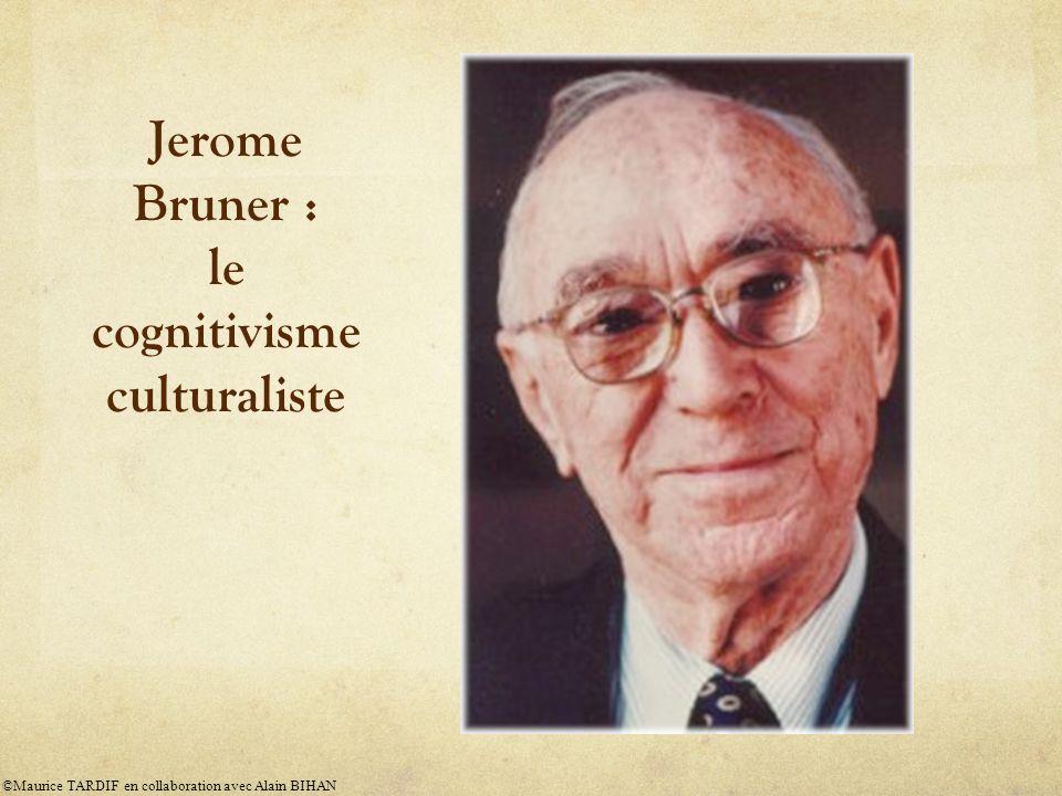 Le rôle de lenseignant selon le cognitivisme ©Maurice TARDIF en collaboration avec Alain BIHAN
