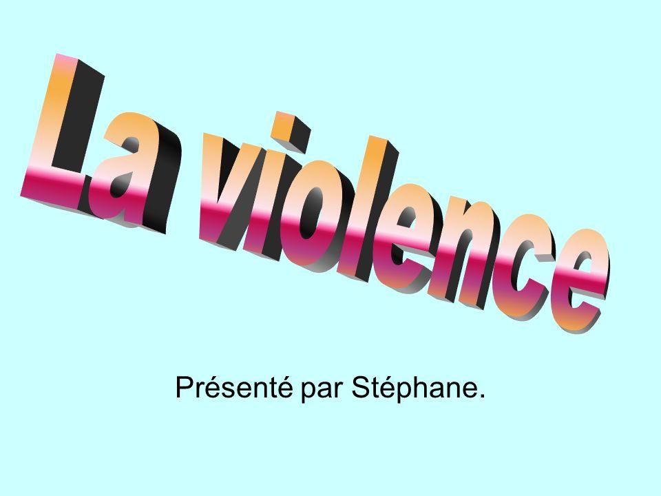 Présenté par Stéphane.