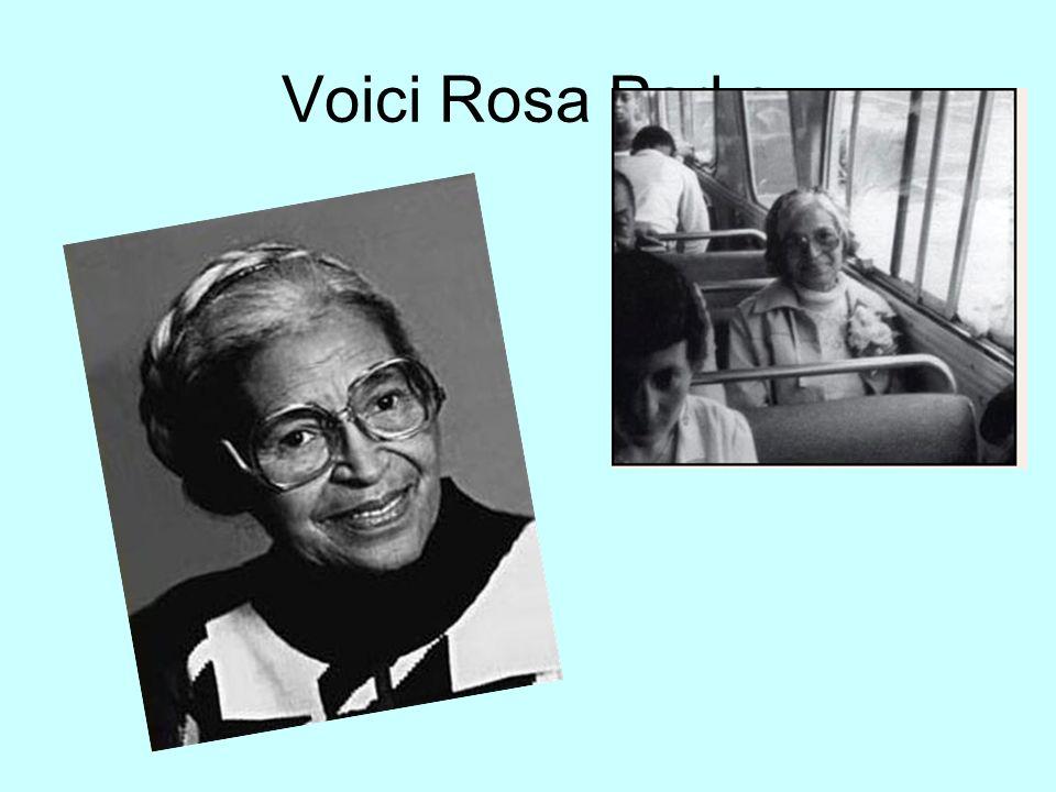 Voici Rosa Parks