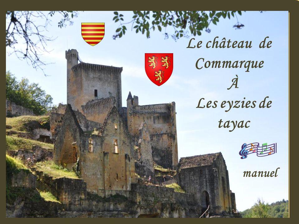 Le château de Commarque À Les eyzies de tayac manuel