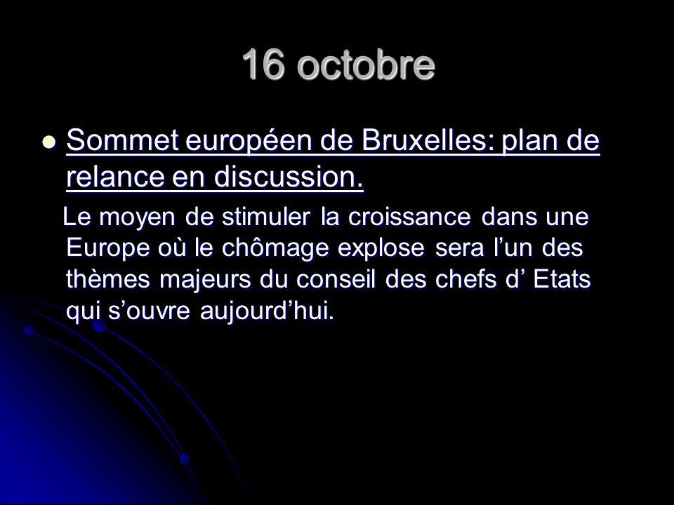17 octobre Europe, Acteurs européens Europe, Acteurs européens Jean claude Trichet, la longue marche jusquá la BCE.