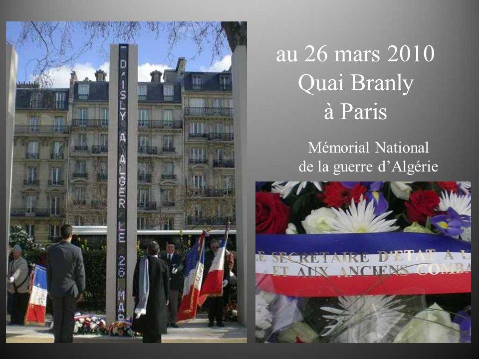 du 26 mars 1962 rue dIsly à Alger