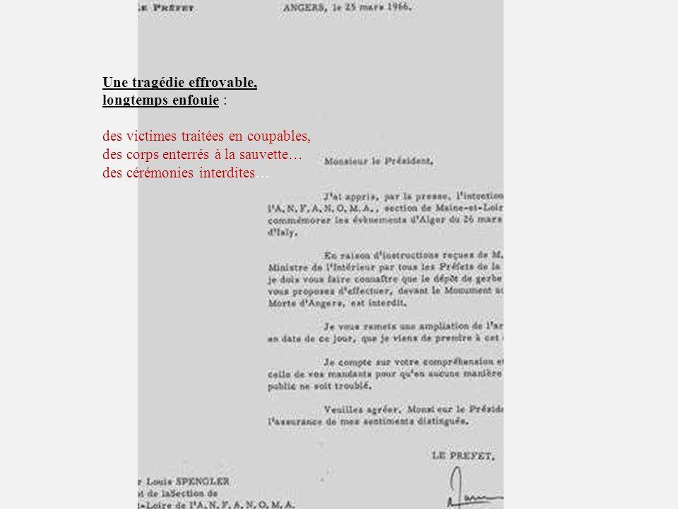 au 26 mars 2010 Quai Branly à Paris Mémorial National de la guerre dAlgérie