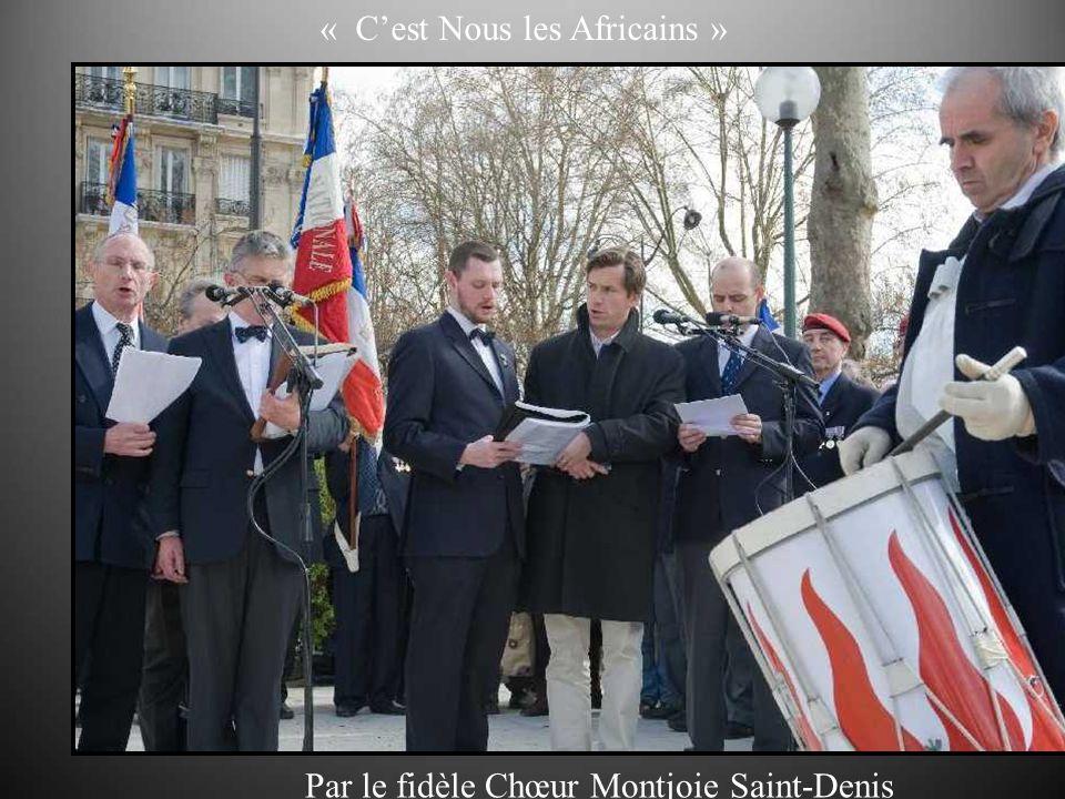 « Cest Nous les Africains » Par le fidèle Chœur Montjoie Saint-Denis