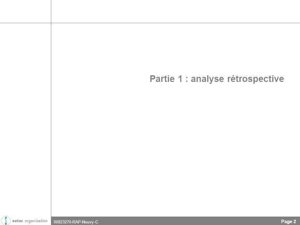 00823270-RAP-Neuvy-C Page 2 Partie 1 : analyse rétrospective