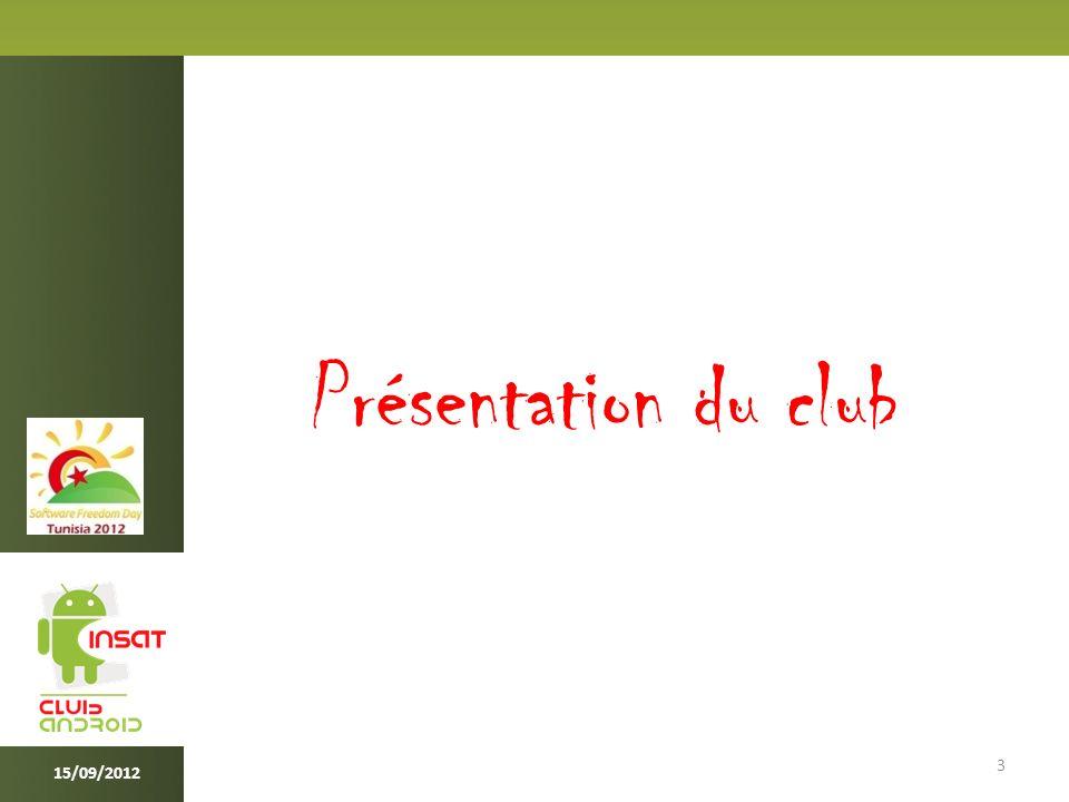 IAC 4 INSAT ANDROID CLUB est : Le club dédié à la technologie Android au sein de l INSAT, fondé le 1er septembre 2011 par Mr Amine Belhassine, Le premier club à vocation Android en Tunisie, il se place aujourd hui comme club leader de la technologie Android sur le plan national.
