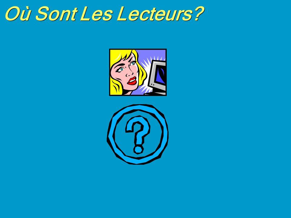 Où Sont Les Lecteurs?