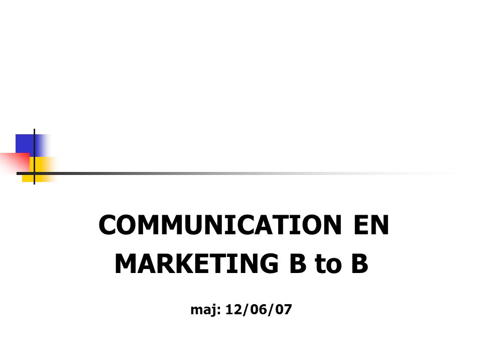 LA COMMUNICATION AUTRES MODES DE COMMUNICATION Les Salons et expositions La formation clients Le marketing direct La lettre d information Les NSIC Le catalogue
