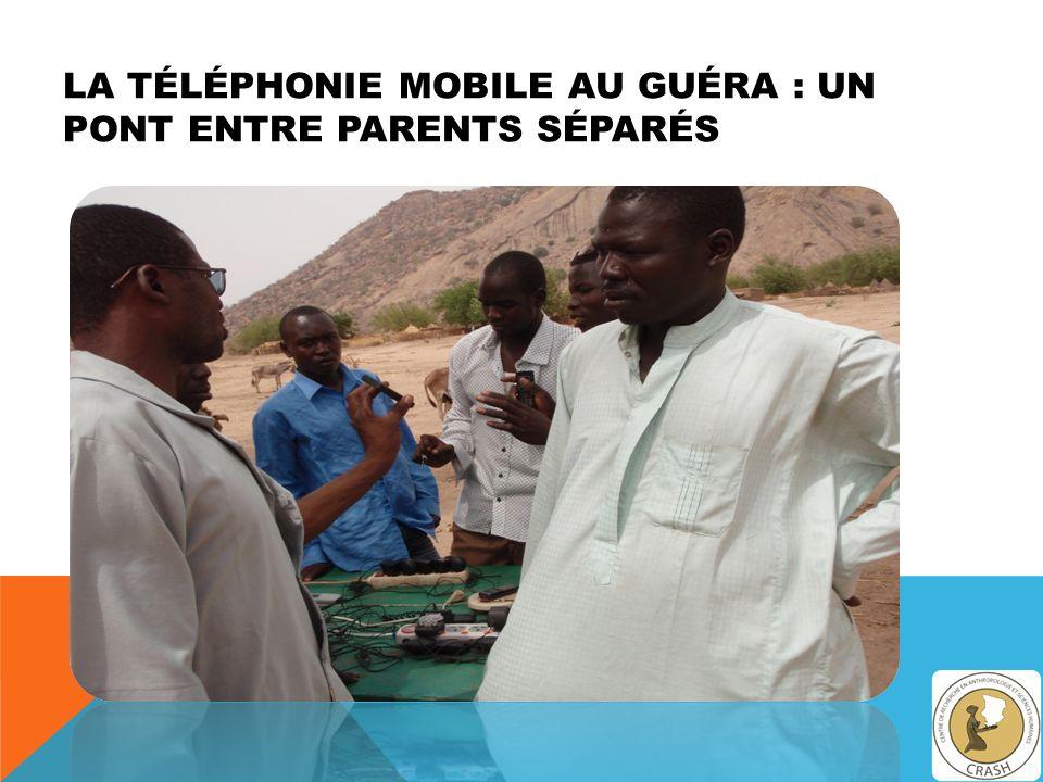 LA TÉLÉPHONIE MOBILE AU GUÉRA : UN PONT ENTRE PARENTS SÉPARÉS