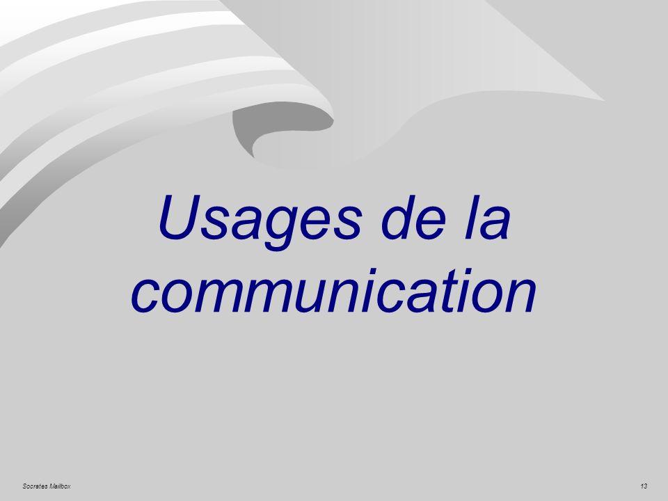 13Socrates Mailbox Usages de la communication