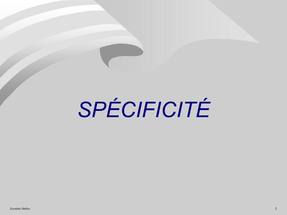 5Socrates Mailbox SPÉCIFICITÉ