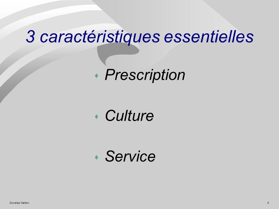 6Socrates Mailbox 3 caractéristiques essentielles s Prescription s Culture s Service