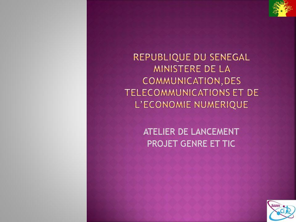 Le comité de pilotage Le comité Technique national La Cellule Genre UGP