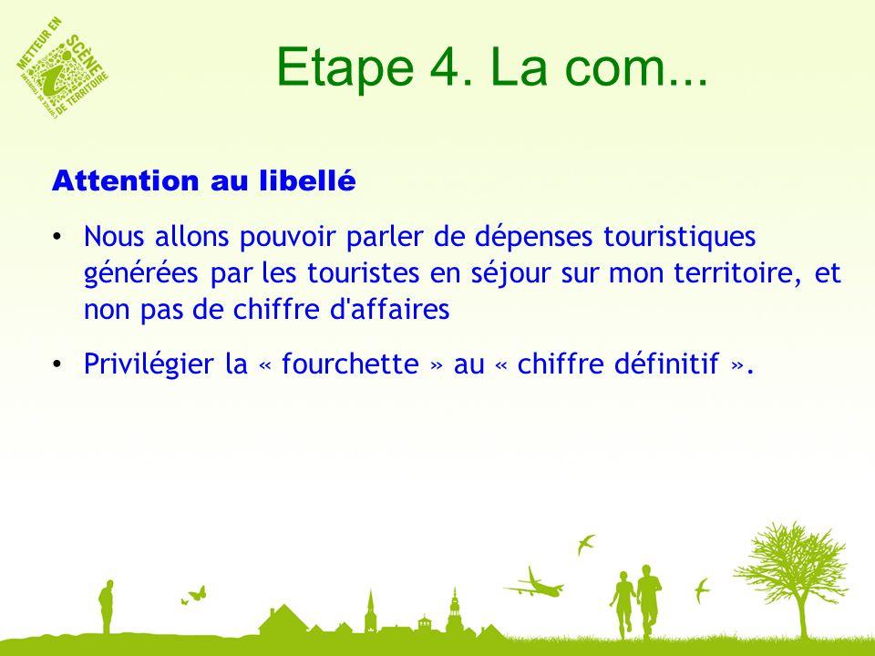 Etape 4. La com...
