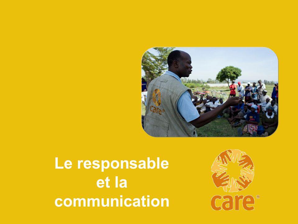 Votre rôle Définir les orientations Encadrer et développer Promouvoir le bien-être et la sécurité du personnel Communiquer Pratiquer et promouvoir la conformité Faire de légalité entre les sexes et la diversité un modèle Normes de gestion de CARE