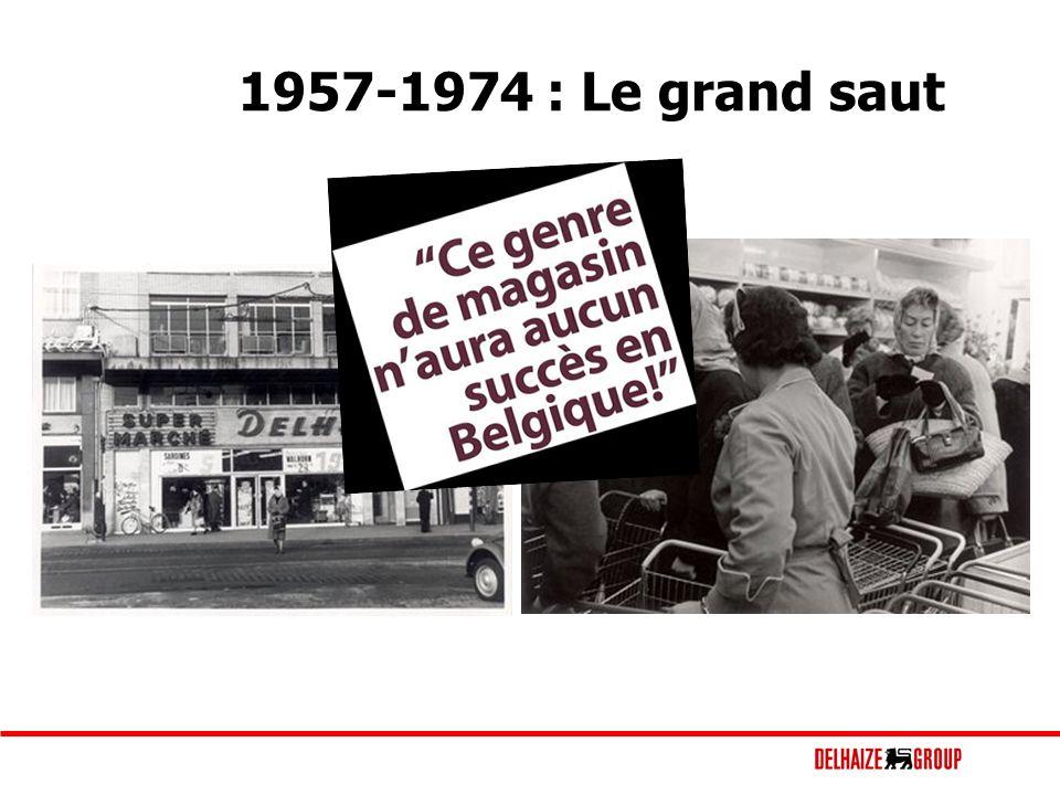 1957-1974 : Le grand saut
