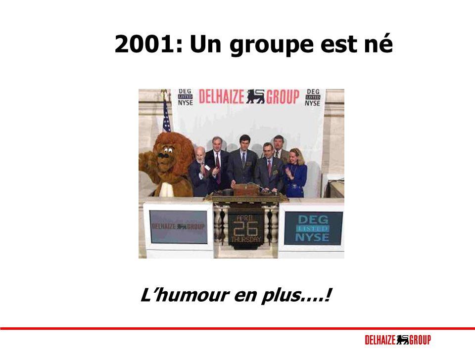 2001: Un groupe est né Lhumour en plus….!
