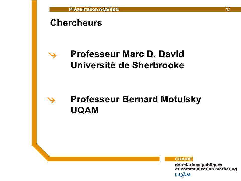 Professeur Marc D.
