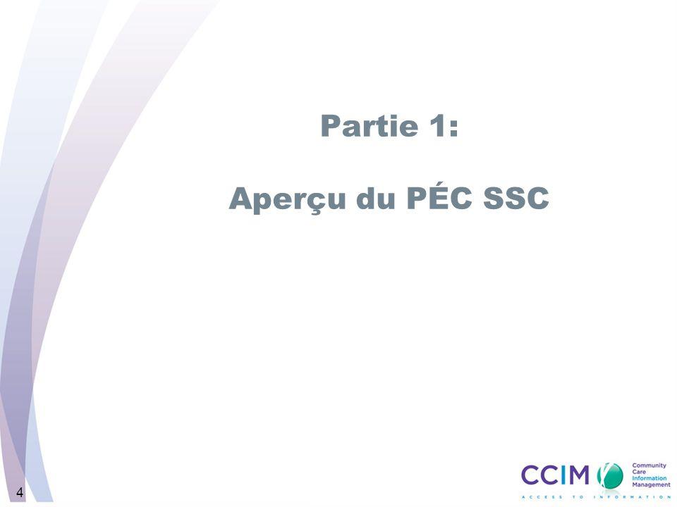 4 Partie 1: Aperçu du PÉC SSC