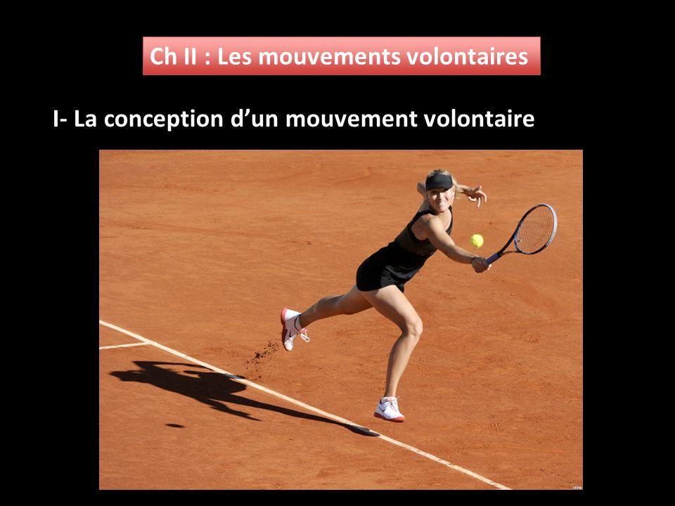 Ch II : Les mouvements volontaires I- La conception dun mouvement volontaire