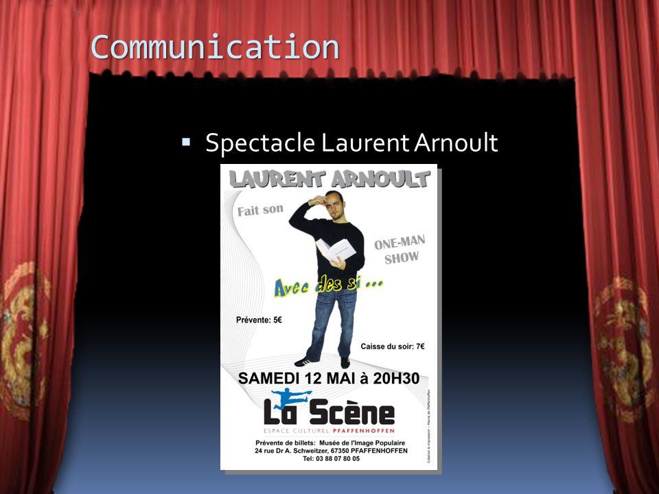 Communication Spectacle Laurent Arnoult