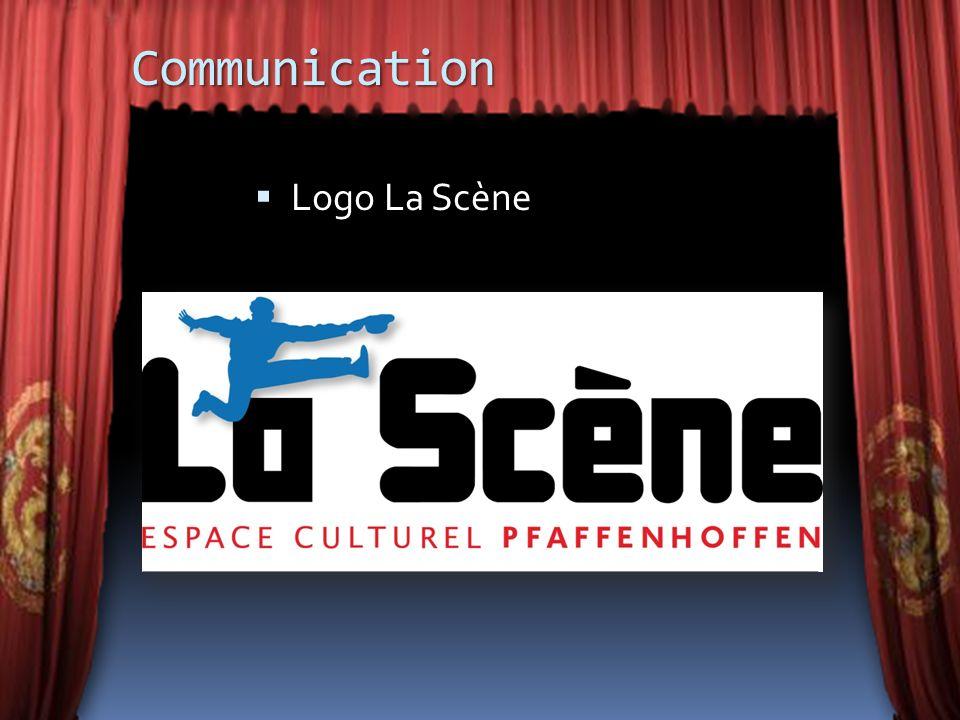 Communication Logo La Scène