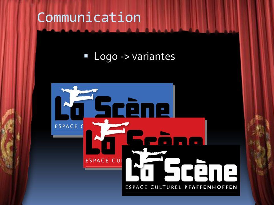 Communication Logo -> variantes
