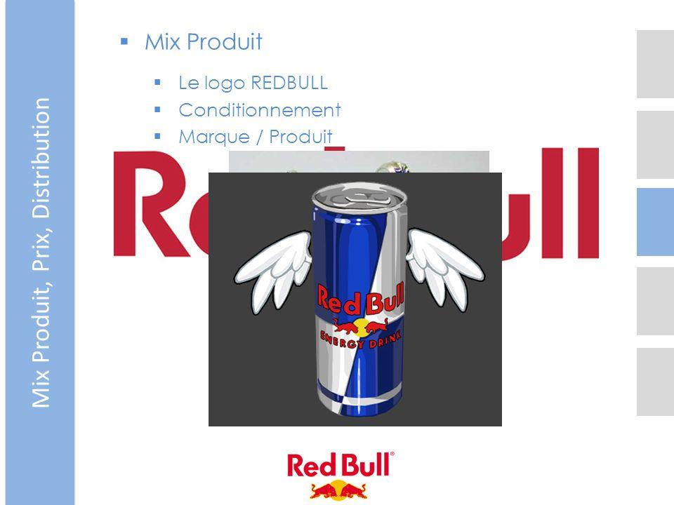 Mix Produit Le logo REDBULL Conditionnement Marque / Produit