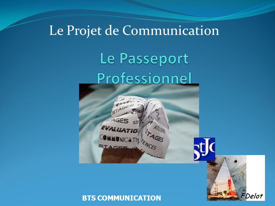 Le Projet de Communication BTS COMMUNICATION