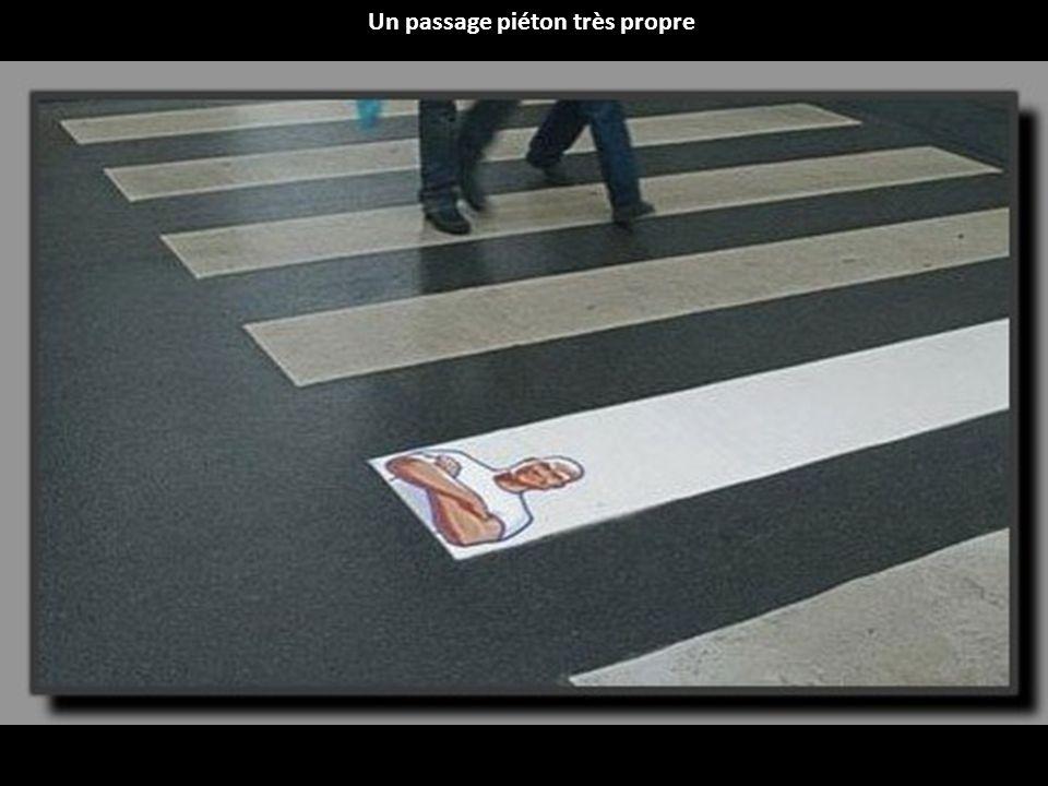 Opération de street marketing réalisée par un centre commercial brésilien.
