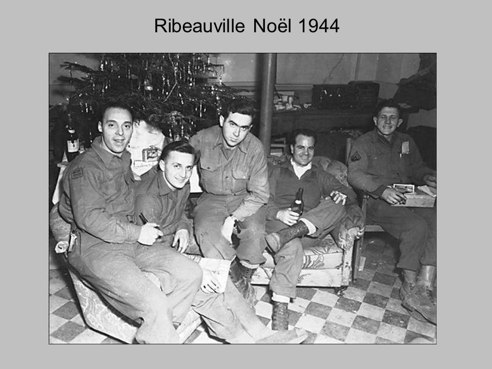 Ribeauville Noël 1944