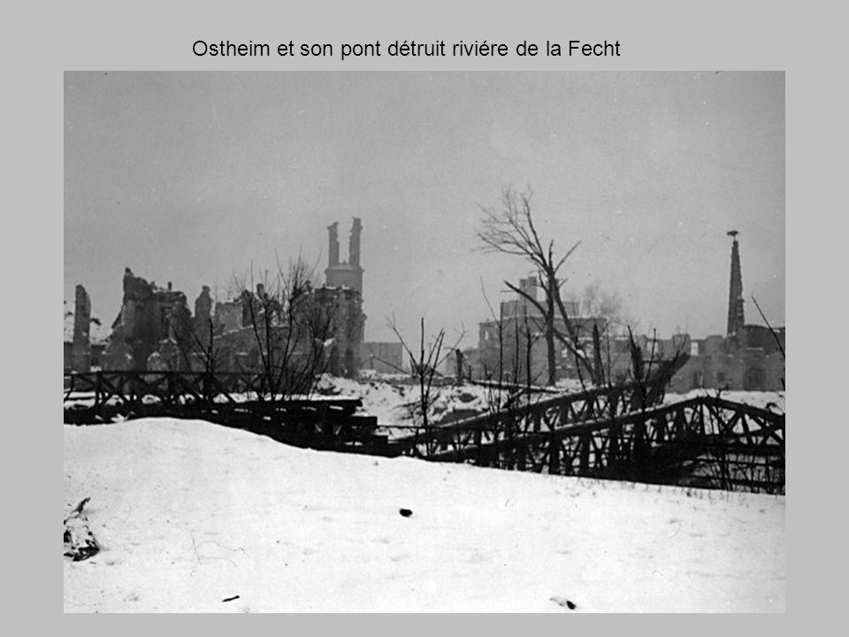 Bill Toomey à Salzburg, Austriche, Juillet 1945.Fourragére Française pour son action A la poche de Colmar